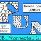Doodle Loop Letters - Line art included!!! CU OK