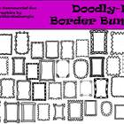 Doodly Doo Border Bundle- 41 pieces Commercial Use Frames