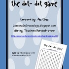 Dot-Dot Addition &amp; Subtraction Partner Math Game
