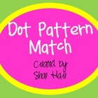 Dot Pattern Match - Flash Card - Work Station - Common Core Math