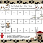 Dot the Dog's Short O Literacy Station Word Game RF.1.3, RF.2.3
