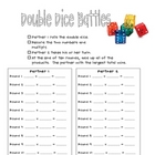 Double Dice Multiplication Battles