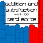 Double Digit Addition and Subtraction Card Sorts within 100