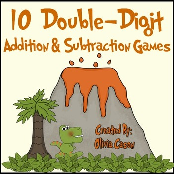 Double Digit Math Games Using Place Value (Common Core / Go Math)