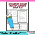 Double Digit Multiplication Work Mat