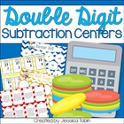 Double Digit Subtraction Centers
