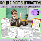 Double Digit Subtraction Strategies {Common Core Aligned}