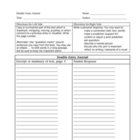Double Entry Journal Graphic Organizer