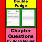 Double Fudge  Reading comprehension Worksheets