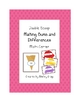 Double Scoop &quot;Sums and Differences&quot; Math Center