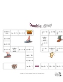 Double Step Board Game (Solving Two Step Equations with In