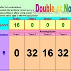 Double or Nothing Review Activity - School License  A Pink