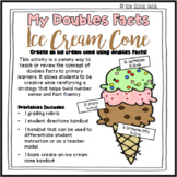 Doubles Facts Ice Cream Cone