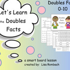 Doubles Facts Math SmartBoard Lesson Primary Grades
