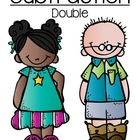Doubles In Subtraction Quick and Easy Center Game - Cute K