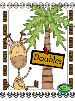 Doubles Math Center Activity