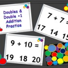 Doubles and Doubles Plue 1 - Koosh Ball Smart Board Game