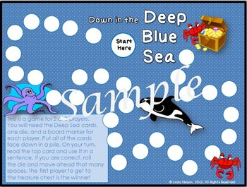 Down in the Deep Blue Sea: Games for T- and W- Sight Words