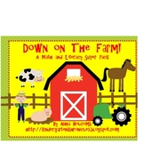 Down on the Farm COMBO Math and Literacy Pack