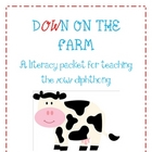 Down on the Farm Diphthong /ow/ Literacy activity