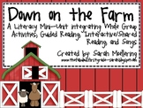 Down on the Farm Literacy Mini-Unit
