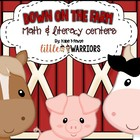Down on the Farm Math and Literacy Centers