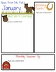 Down on the Farm Themed Classroom Newsletters