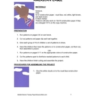 Downloadable American Eagle Cut and Paste Art Activity for