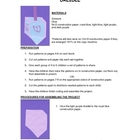 Downloadable Dreidel Cut and Paste Art Project Pattern Packet