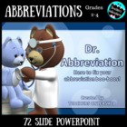 Dr. Abbreviation - Guided Practice and Test Prep