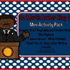 Dr. Martin Luther King Jr. Mini Activity Pack