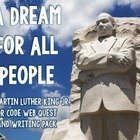 Dr. Martin Luther King Jr. QR Code Web Quest Task Cards an