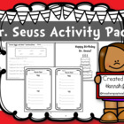Dr. Seuss Contractions Activity