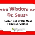 Dr. Seuss Inspiration Mini-Poster Set 16 Posters in Color!