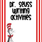 Dr. Seuss Inspired Work on Writing Prompts
