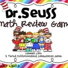 Dr. Seuss Math Game for Upper Grades