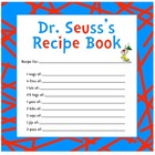 Dr. Seuss Recipe Book Printable