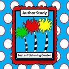 Instant Listening Center - Author Study -Daily 5 Listen QR codes