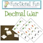 Dragon Decimal War Cards - FunctionalFun