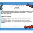 Dragon Multiplication 3s, 4s, 5s