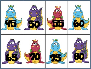 Dragon Skip Counting 5s and 10s