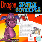 Dragon Spatial Concepts and Following Directions Activity