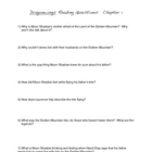 Dragonwings Reading Questions: Chapter 1