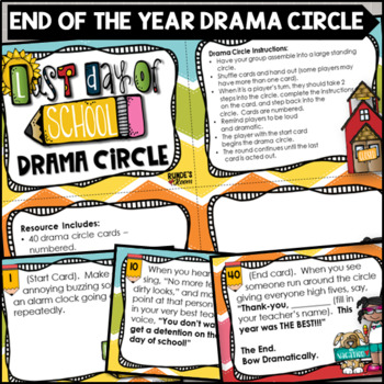 Drama Circle - End of the Year