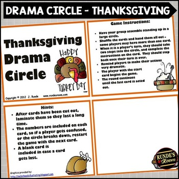 Drama Circle - Thanksgiving Theme