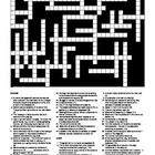 Drama - Keywords Crossword