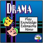 Drama Play Knowledge Extensions Menu