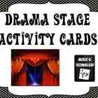 Drama Stage Activity Cards