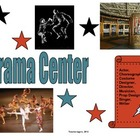 Drama Station: Learning Center Label