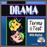 Drama Terms and Test - Elements of Drama